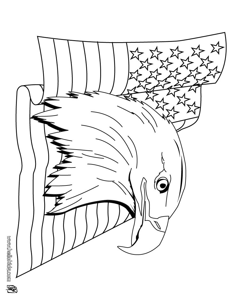 4th of July Coloring 2018- Dr. Odd