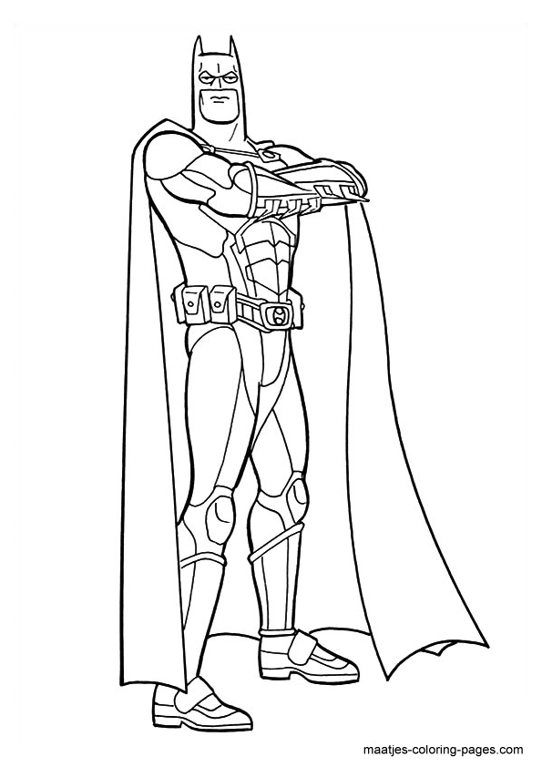 Batman Coloring Page 2020: Best, Cool, Funny
