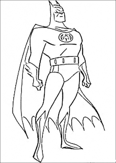 Batman Coloring Page 2019 Best