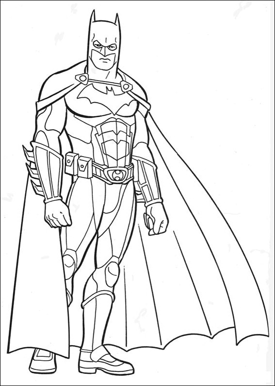 Free Printable Coloring Pages Batman 2015