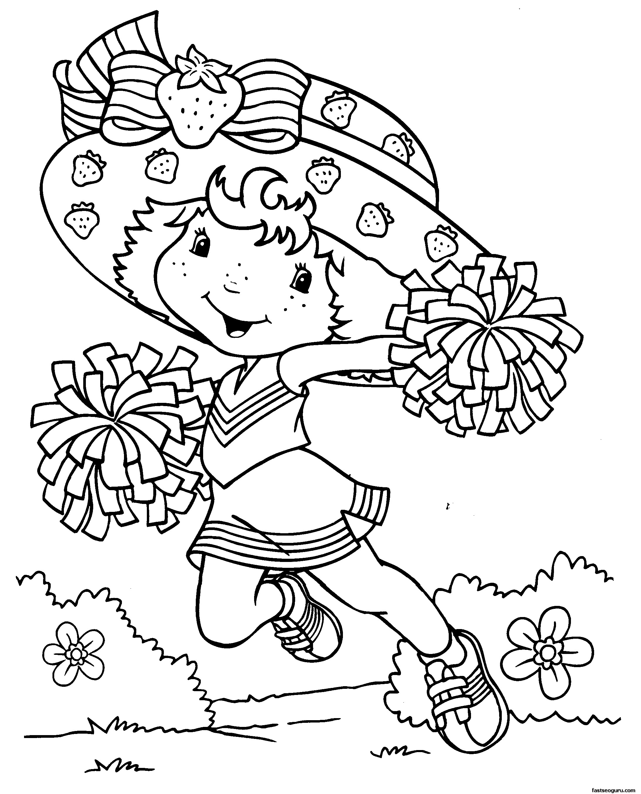 Coloring pages for girl - Coloring Pages For Girls