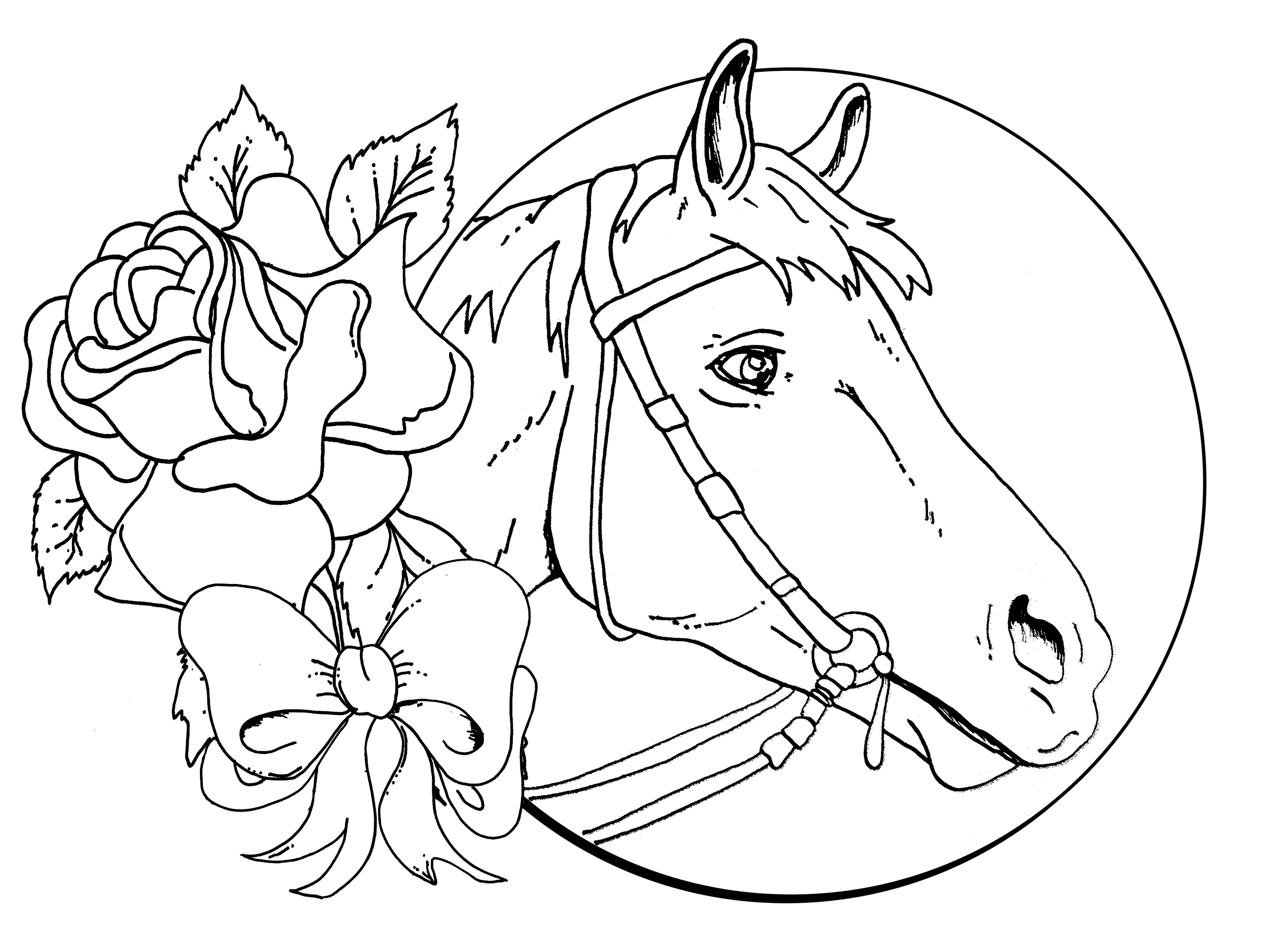 download - Coloring Pages Horse