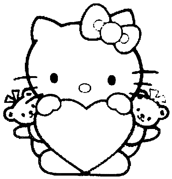 coloring pages for girls - dr. odd - Kitty Doctor Coloring Pages