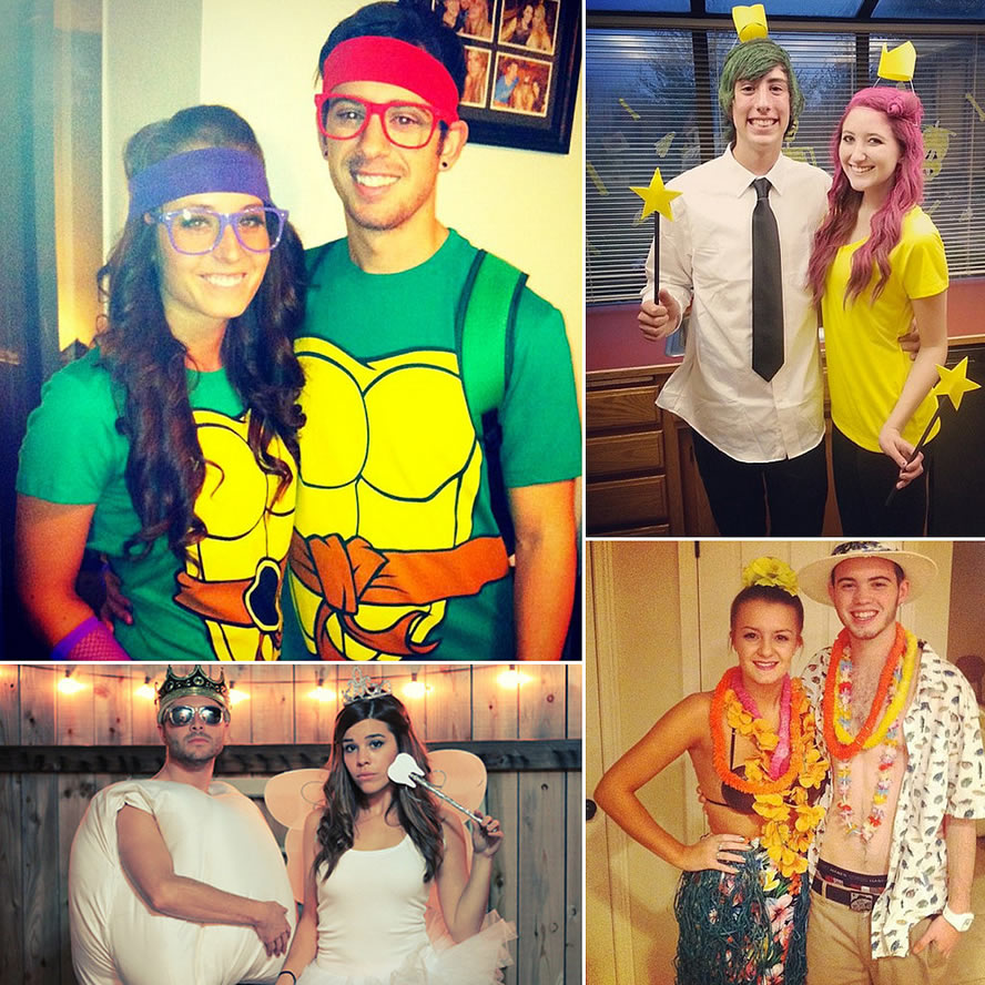 Diy Costumes For Couples 2018: Couple Costumes 2019