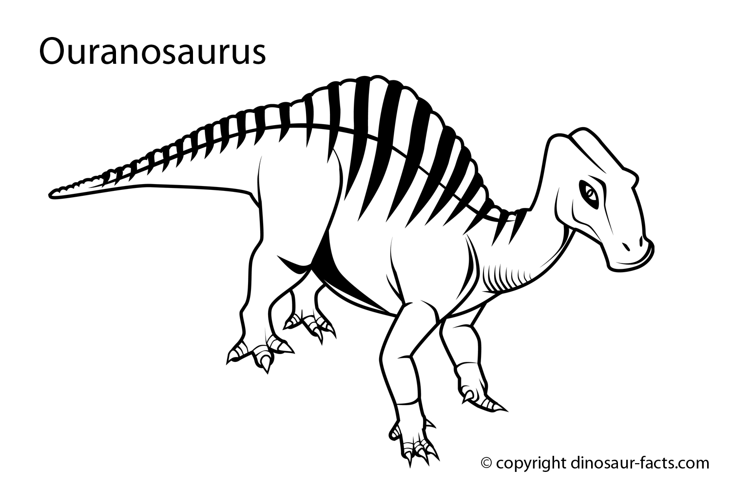 Dinosaur Coloring Pages 2018- Dr. Odd