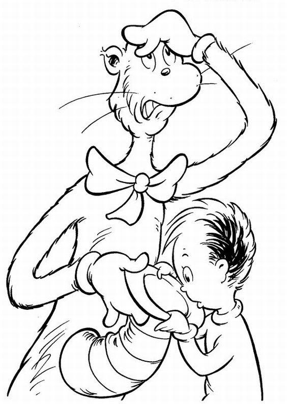 Dr Seuss Coloring Pages Dr Odd