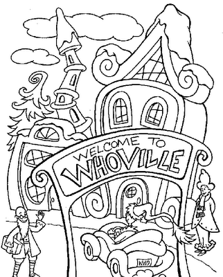 Dr Seuss Coloring Pages 2019