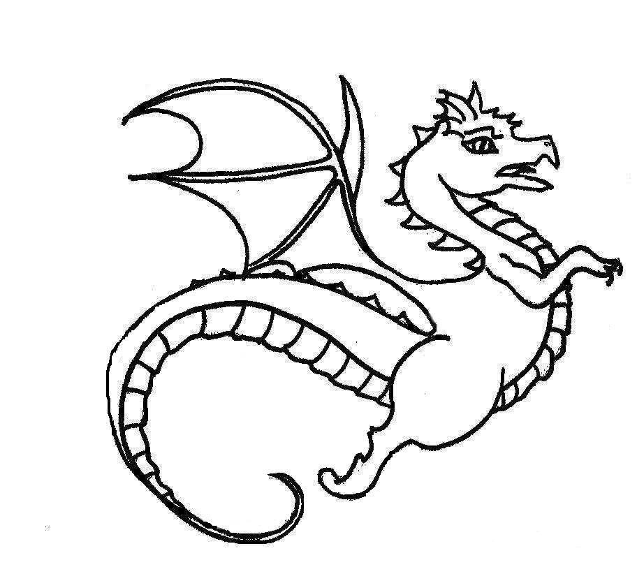 Dragon Coloring Pages 2018- Dr. Odd