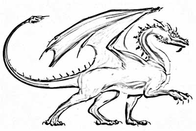 my kids love to print and color these dragon coloring pages