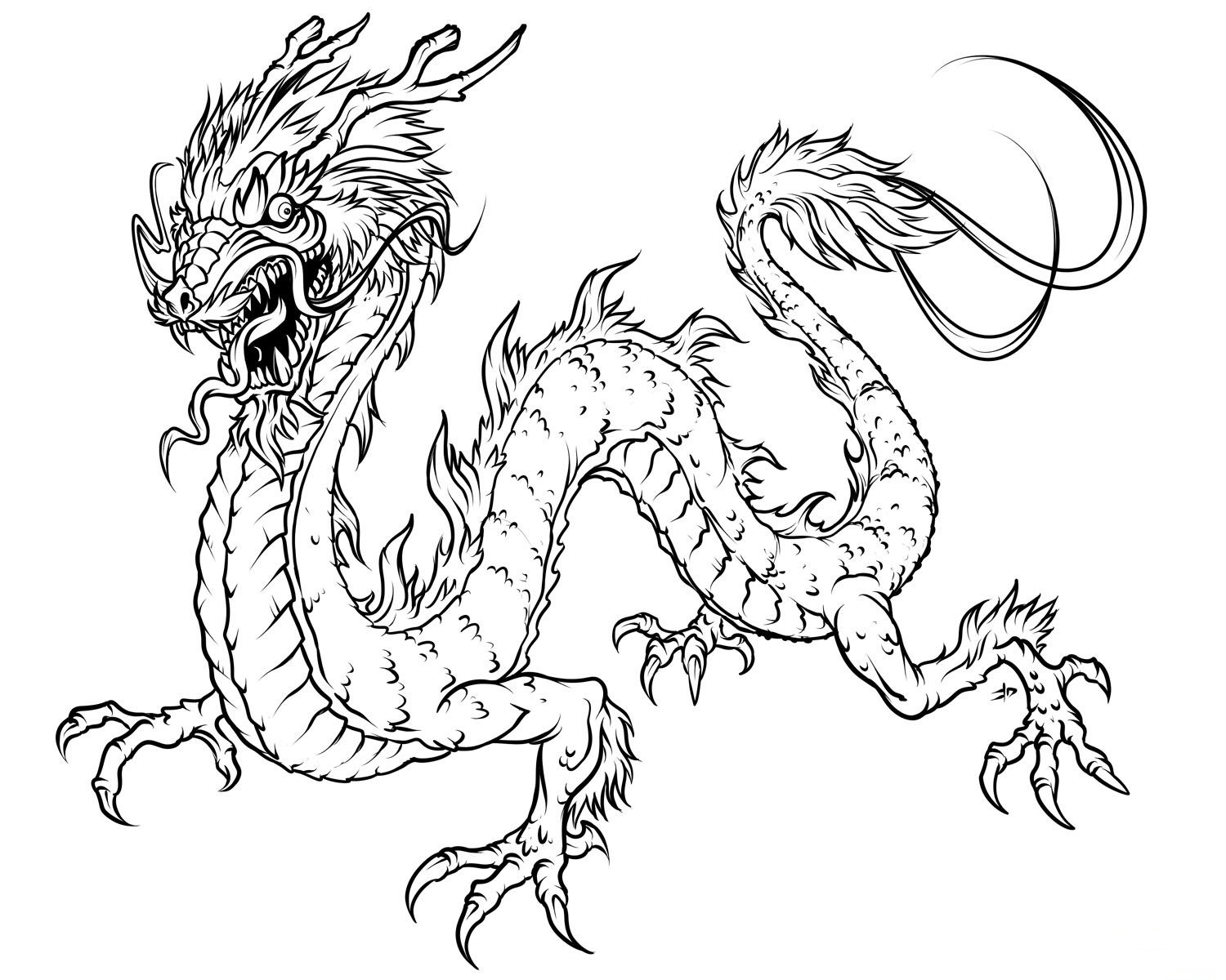 amazing baby dragon coloring pages - photo#28