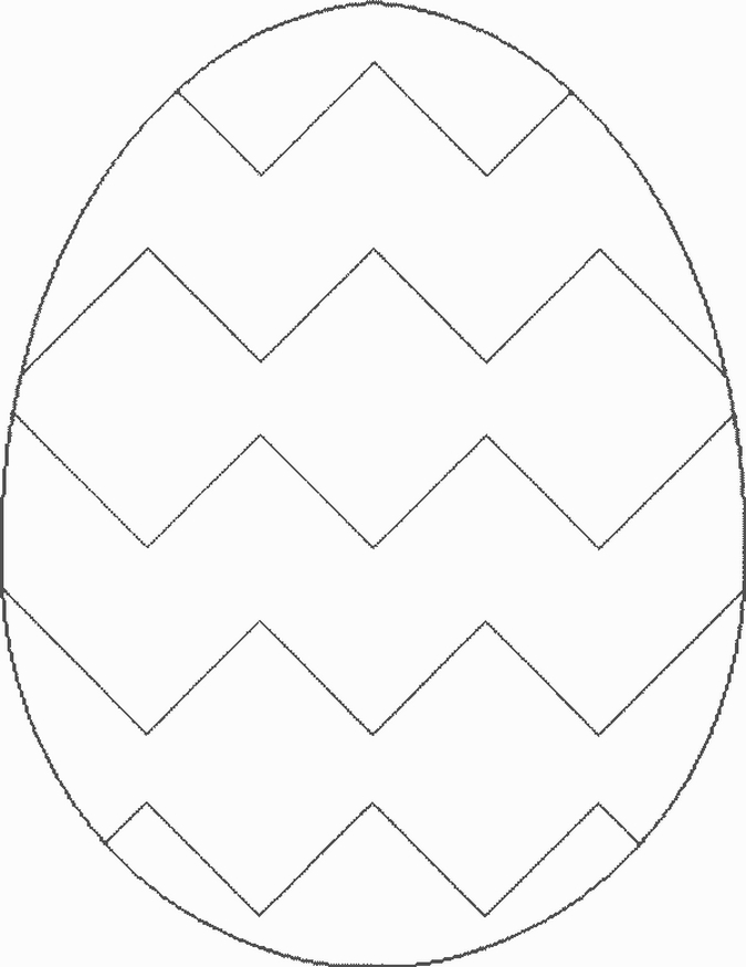 Egg Coloring Outline Images u0026 Pictures - Becuo