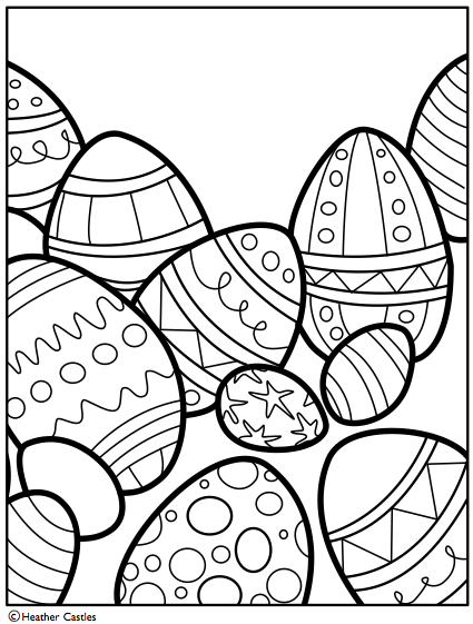 Easter Coloring Pages Printable Pdf : Easter coloring pages dr odd