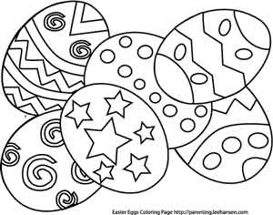 Easter Egg Coloring Pages 2017 Dr Odd