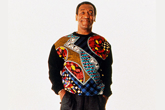 Already own a loud printed '80s sweater? Instant Bill Cosby!