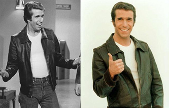 Put that vintage leather jacket you're too nervous to wear to good use and release your inner Fonz.