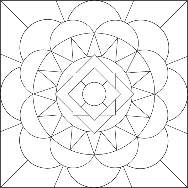 Thanksgiving Abstract Coloring Pages : Nativity coloring pages dr odd
