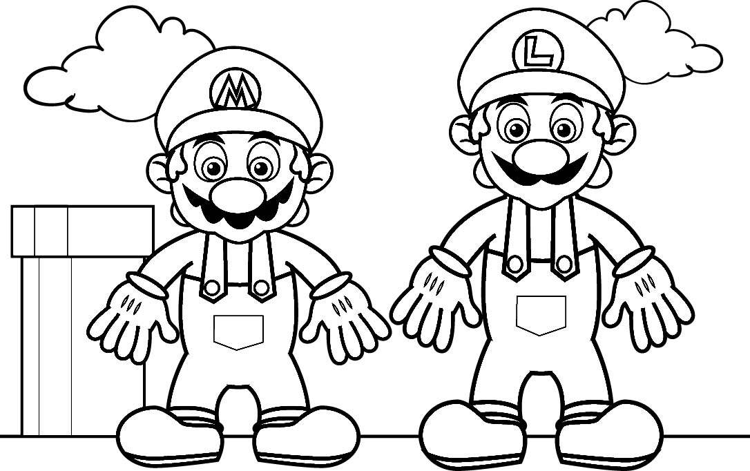 Mario Coloring Pages 2018 Dr Odd Www Free Coloring Sheets