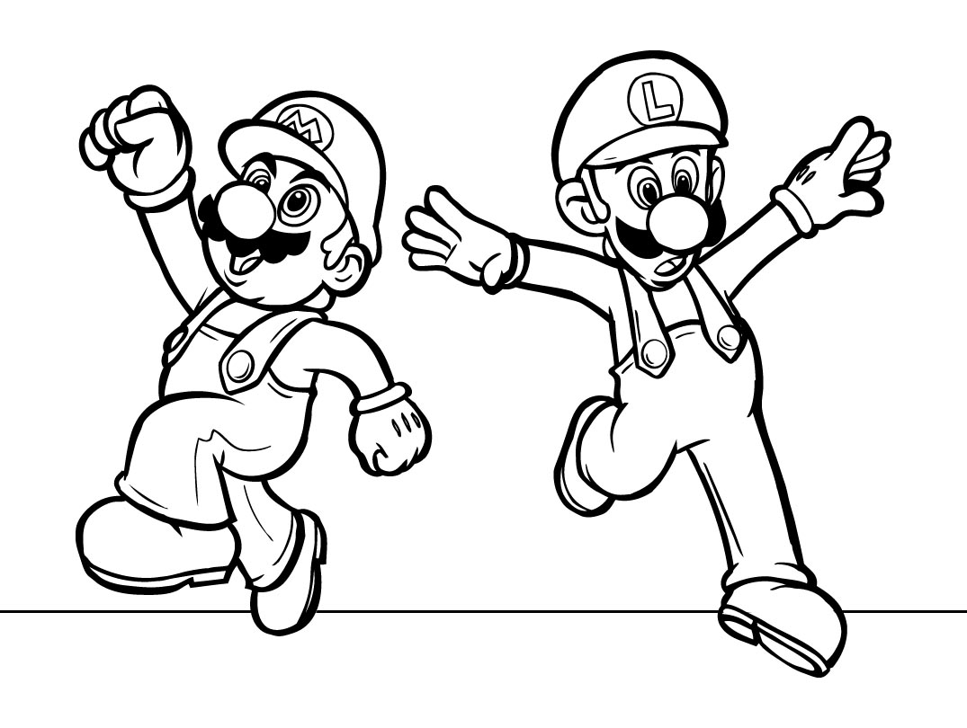 Mario Coloring Pages 2019 Best Cool Funny