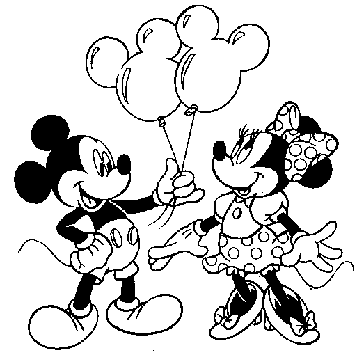 Mickey Mouse Coloring Pages 2019