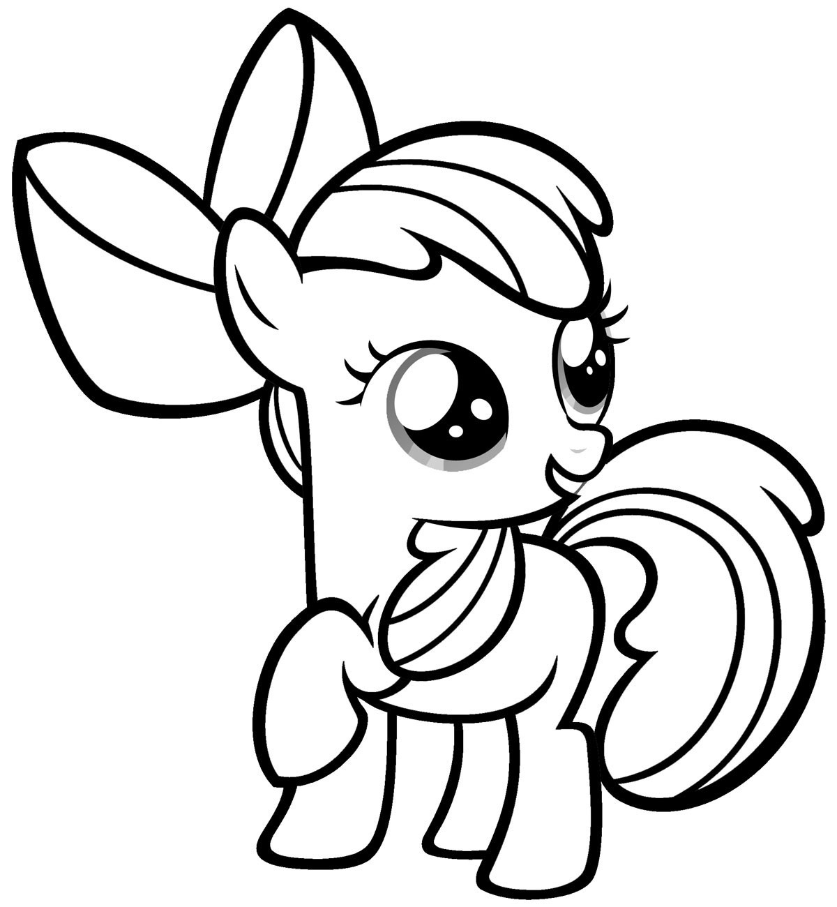 My Little Pony Coloring Pages 10- Dr. Odd