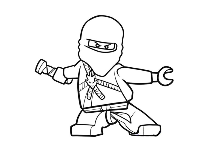 jay ninjago printable coloring pages - photo#12
