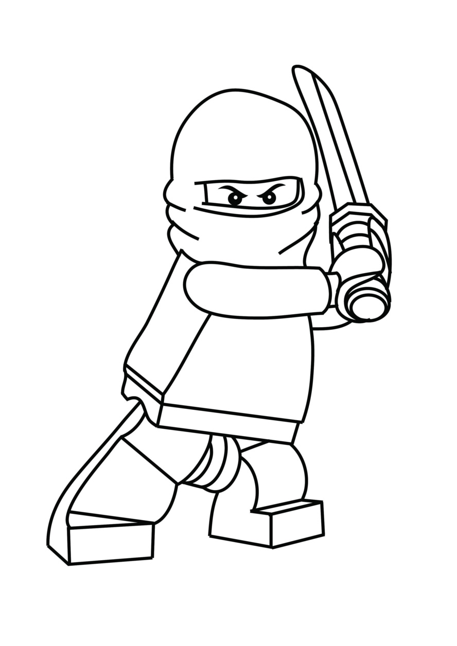 Ninjago Coloring Pages 2018- Dr. Odd