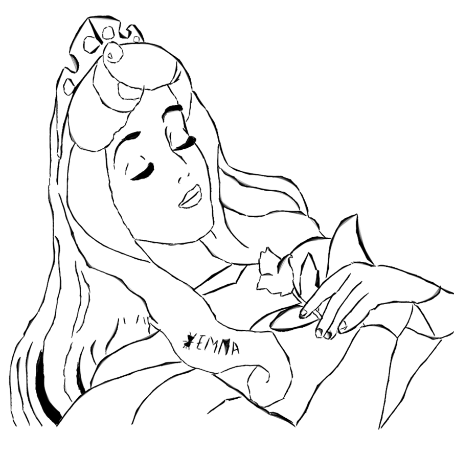 sleeping beauty coloring pages disney - photo#30