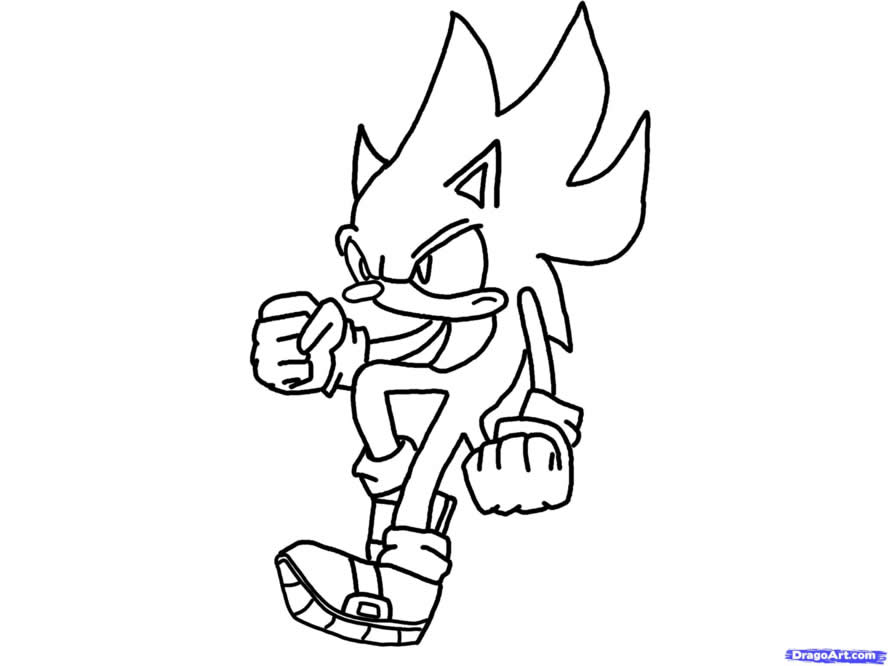 sonic christmas coloring pages - photo#19