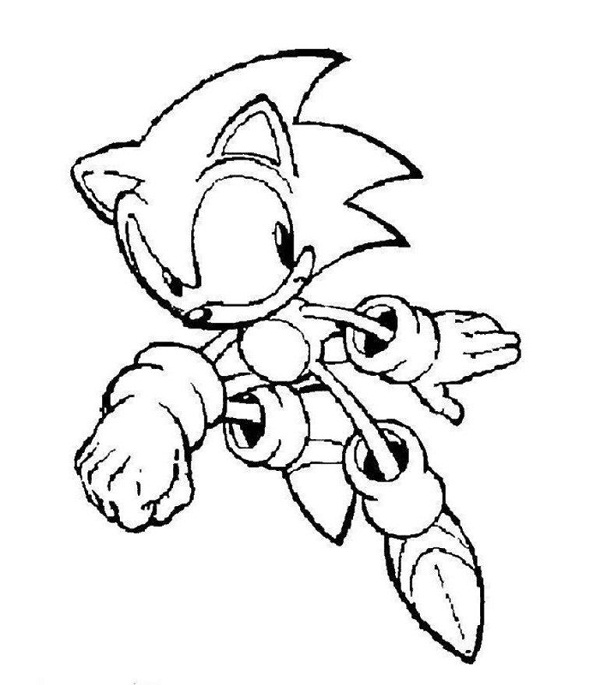 Sonic Coloring Pages 2018- Dr. Odd