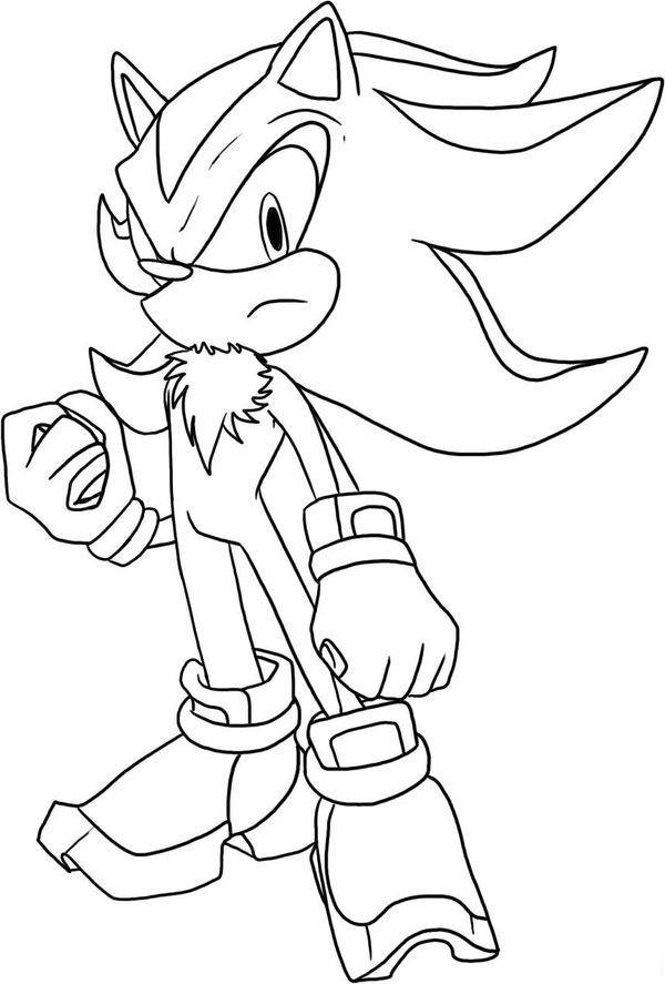 sonic coloring pages 2018
