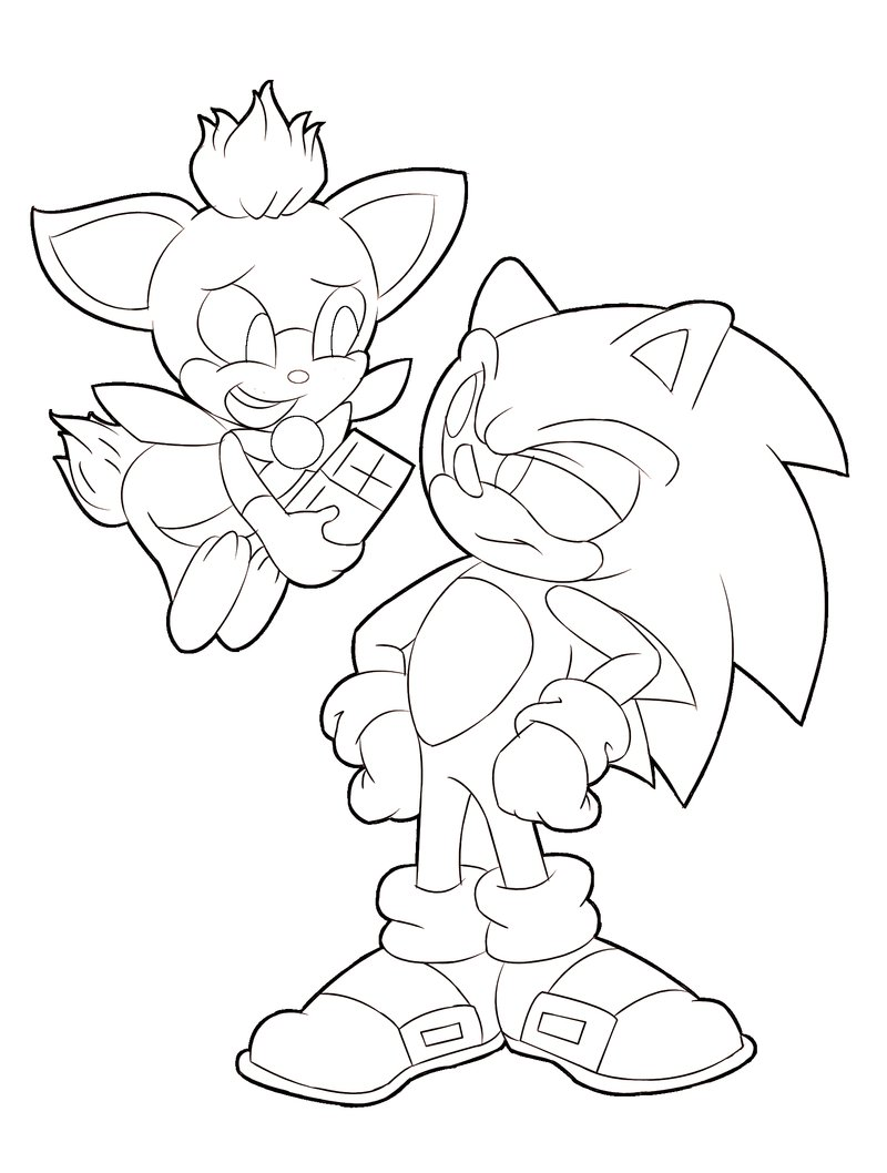 Sonic coloring pages 2018 dr odd for Sonic the hedgehog coloring pages printable