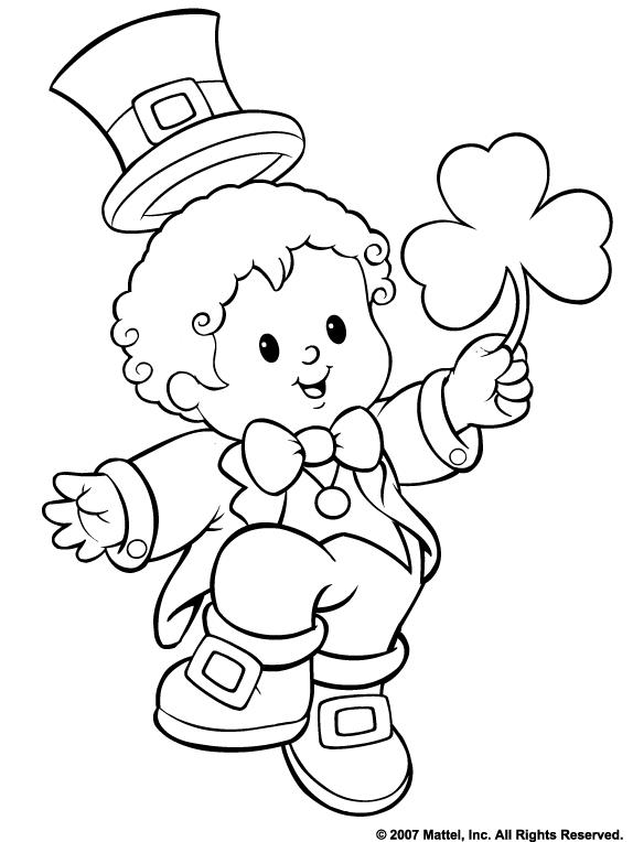 St Patricks Day Coloring Pages Disney Coloring Coloring Pages