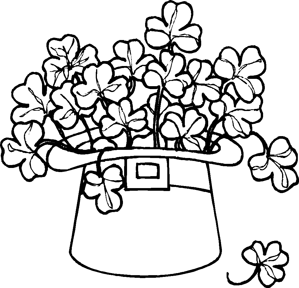 st patricks day coloring pages dr odd - St Patricks Day Coloring Pages