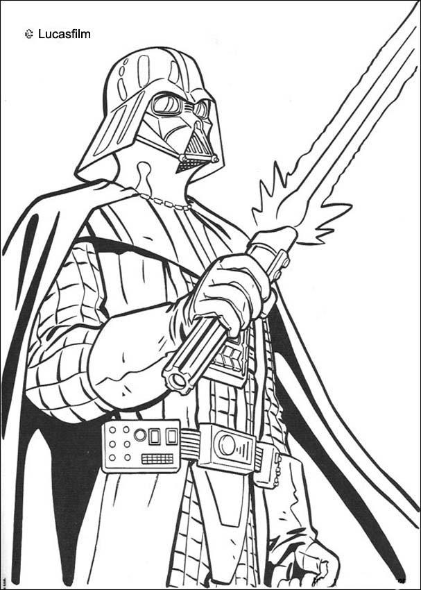 Free Colouring Pages Star Wars : Star wars coloring pages dr odd
