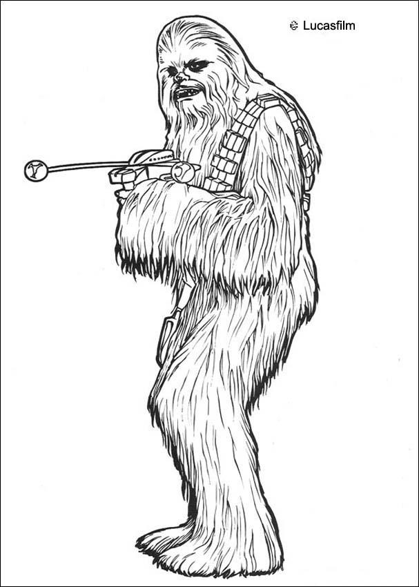 Star Wars Coloring Pages 2018  Dr. Odd