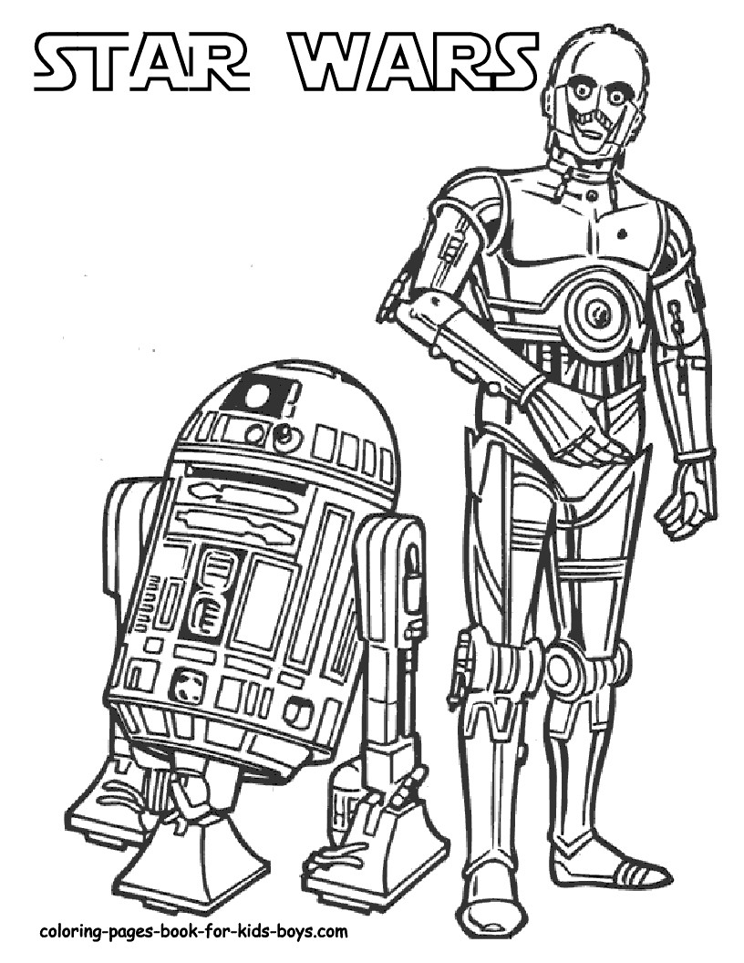 Star Wars Coloring Pages 2019