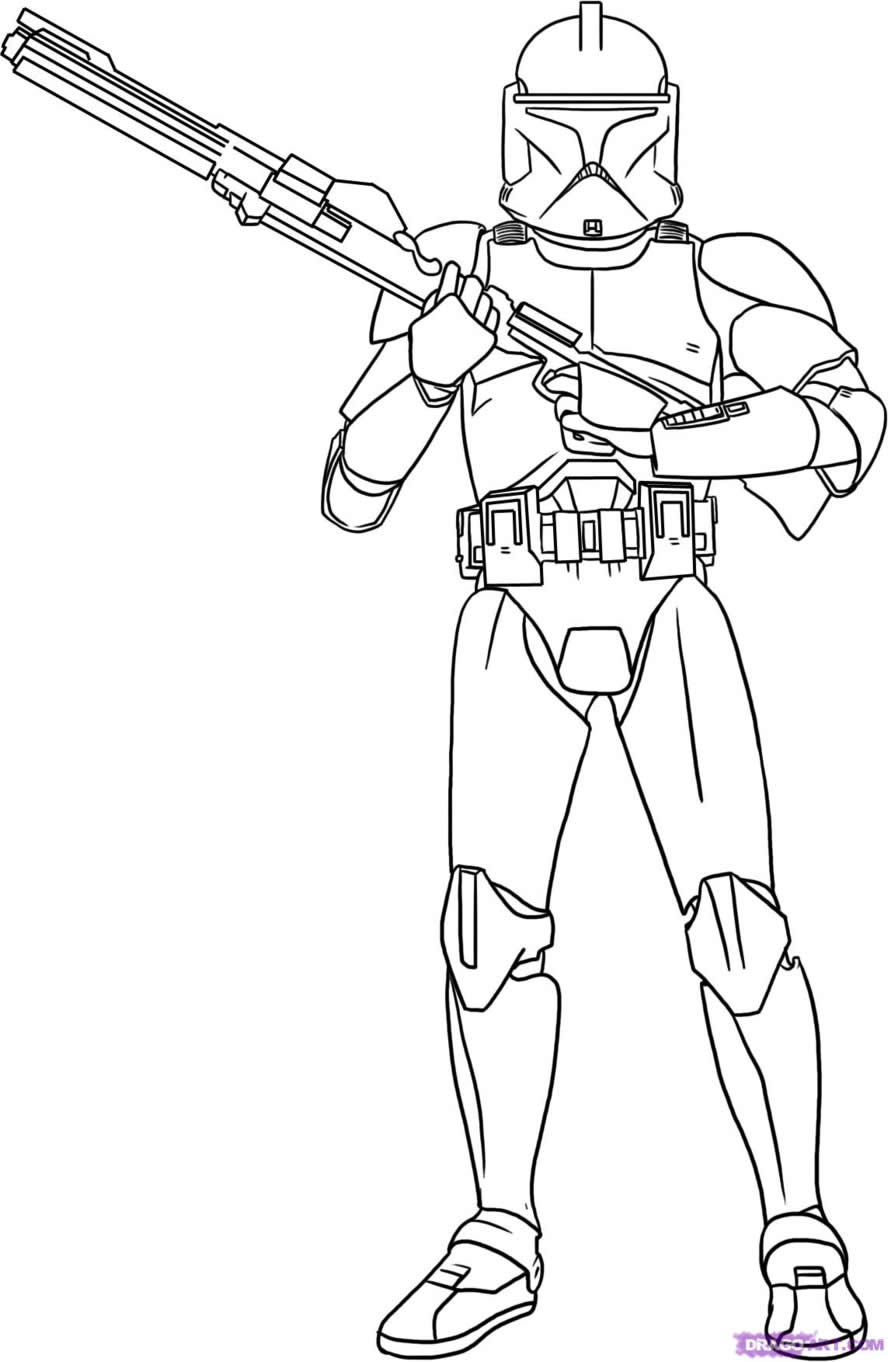 Star Wars Coloring Pages 2018- Dr. Odd