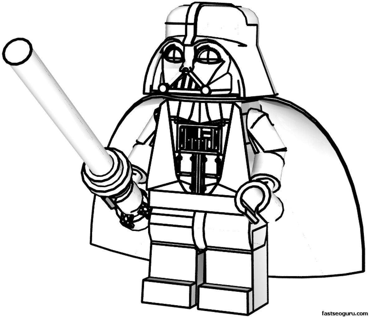 May The 4th Be With You Coloring Page: Star Wars Coloring Pages 2019- Dr. Odd