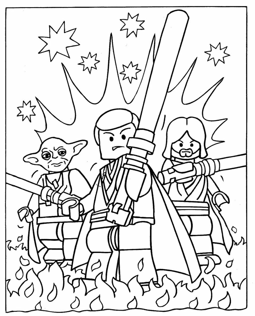 Star Wars Coloring Pages 2019- Dr. Odd