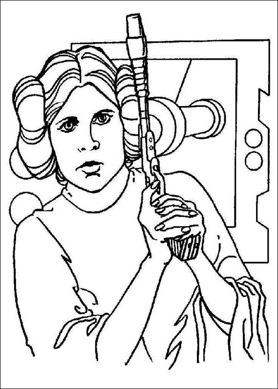 Free Colouring Pages Star Wars : Free coloring pages of star wars birthday