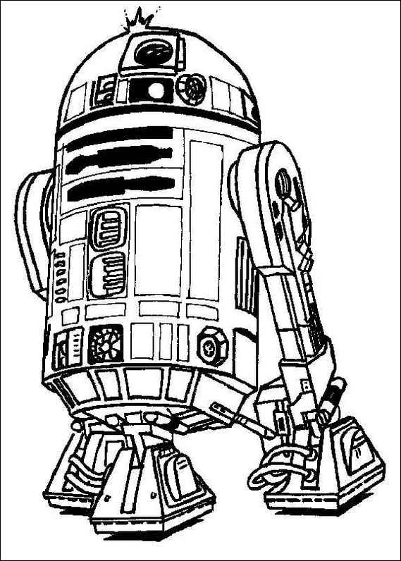 Star Wars Coloring Pages 9- Dr. Odd