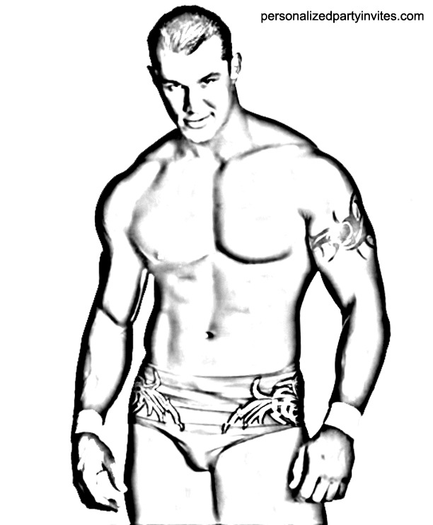 WWE Coloring Pages - Dr. Odd