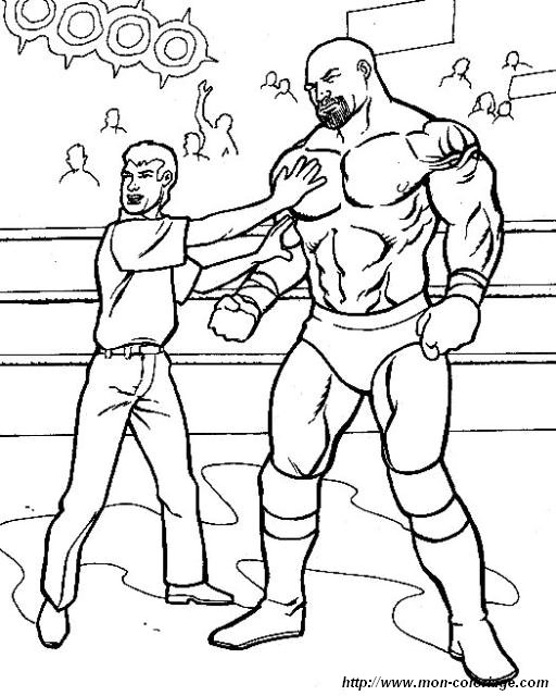 wresler coloring pages - photo#21