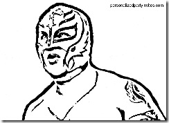 Wwe Coloring Pages Dr Odd