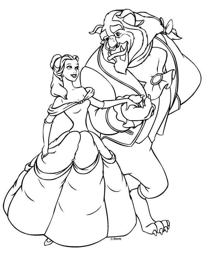 Belle Coloring Pages 2017 Dr Odd