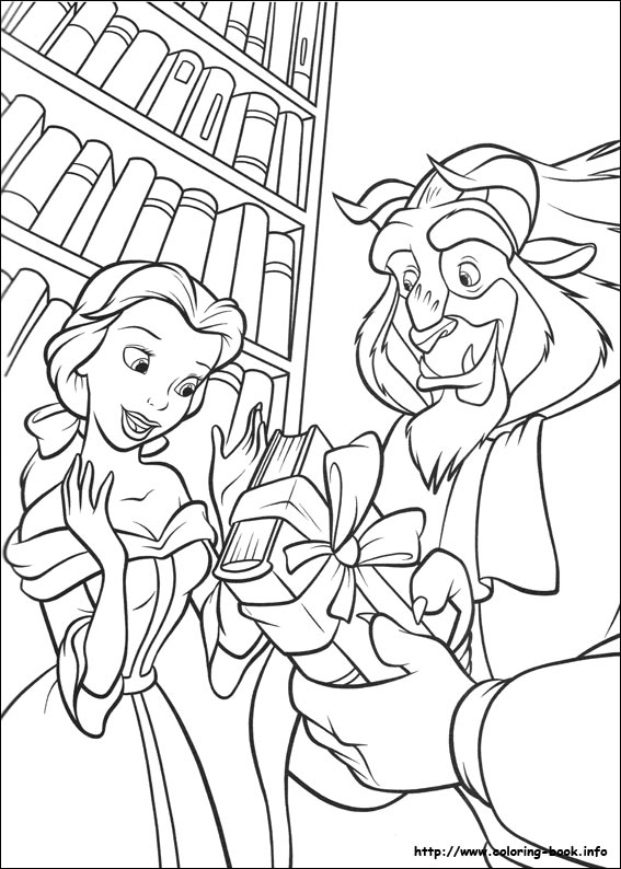 Belle Coloring Pages 2019 Dr Odd