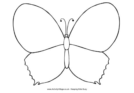 Butterfly Coloring Page Dr Odd Butterflies Color Pages