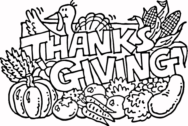 Thanksgiving Coloring Pages Coloring Coloring Pages