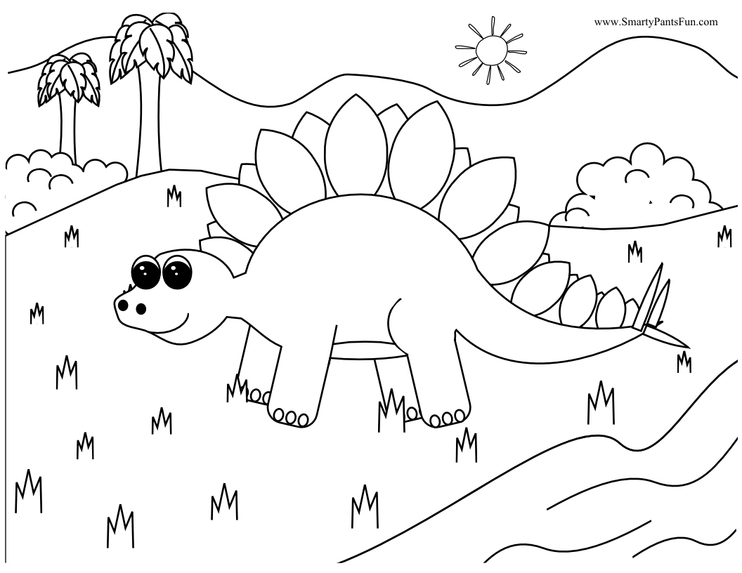 Interactive dinosaur coloring pages - Interactive Dinosaur Coloring Pages 55