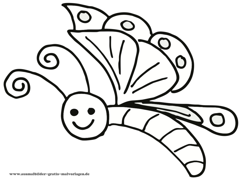 coloring pages dr odd - Coloring Page Butterfly